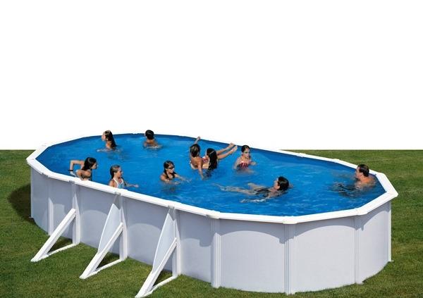 fidji piscina desmontable gre ovalada