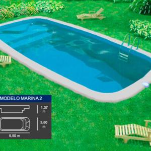marina2 piscina poliester coinpol