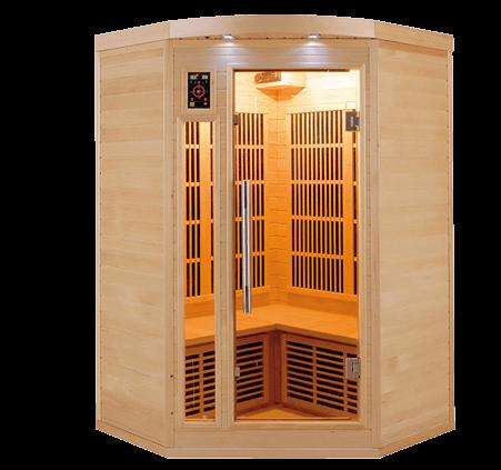 Sauna infrarrojos apollon-2c