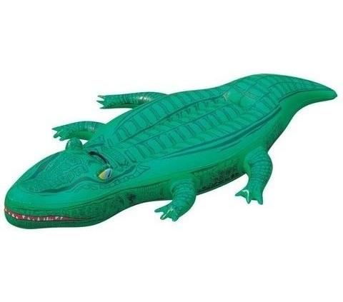 hinchable cocodrilo colchoneta