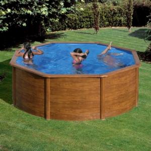 piscina-gre-sicilia-circular-imitacion-madera-miguel cabello-desmontable